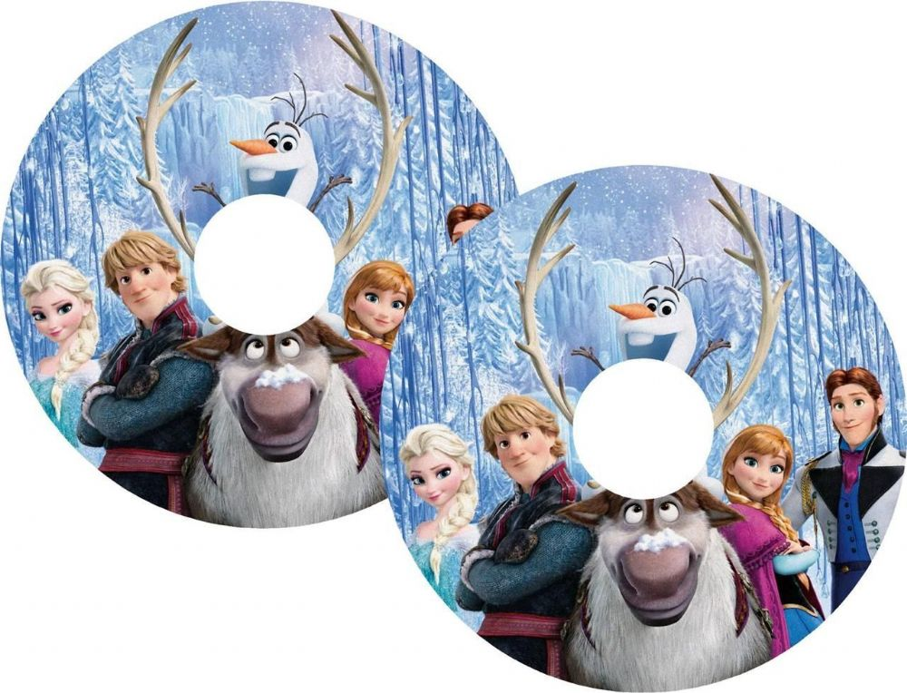 FROZEN Wheelchair Spoke Guard Sticker Skins